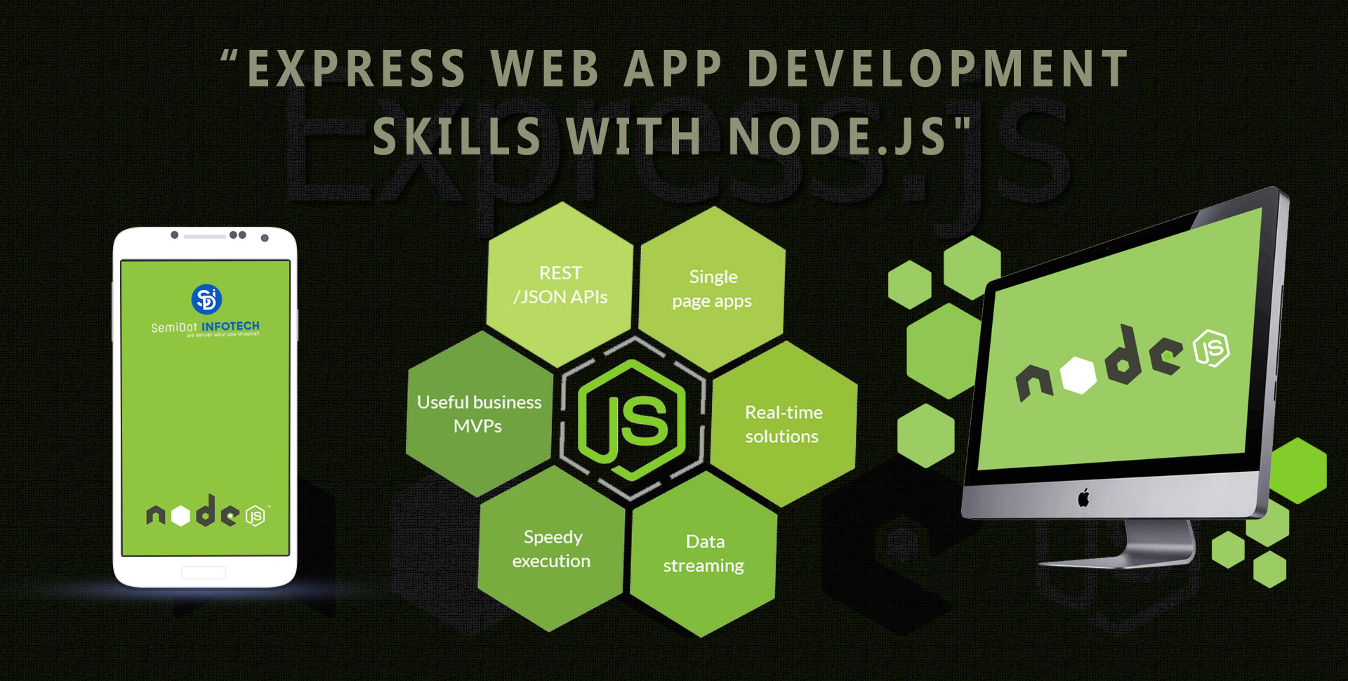 Express Node.js Web App Development Skills with