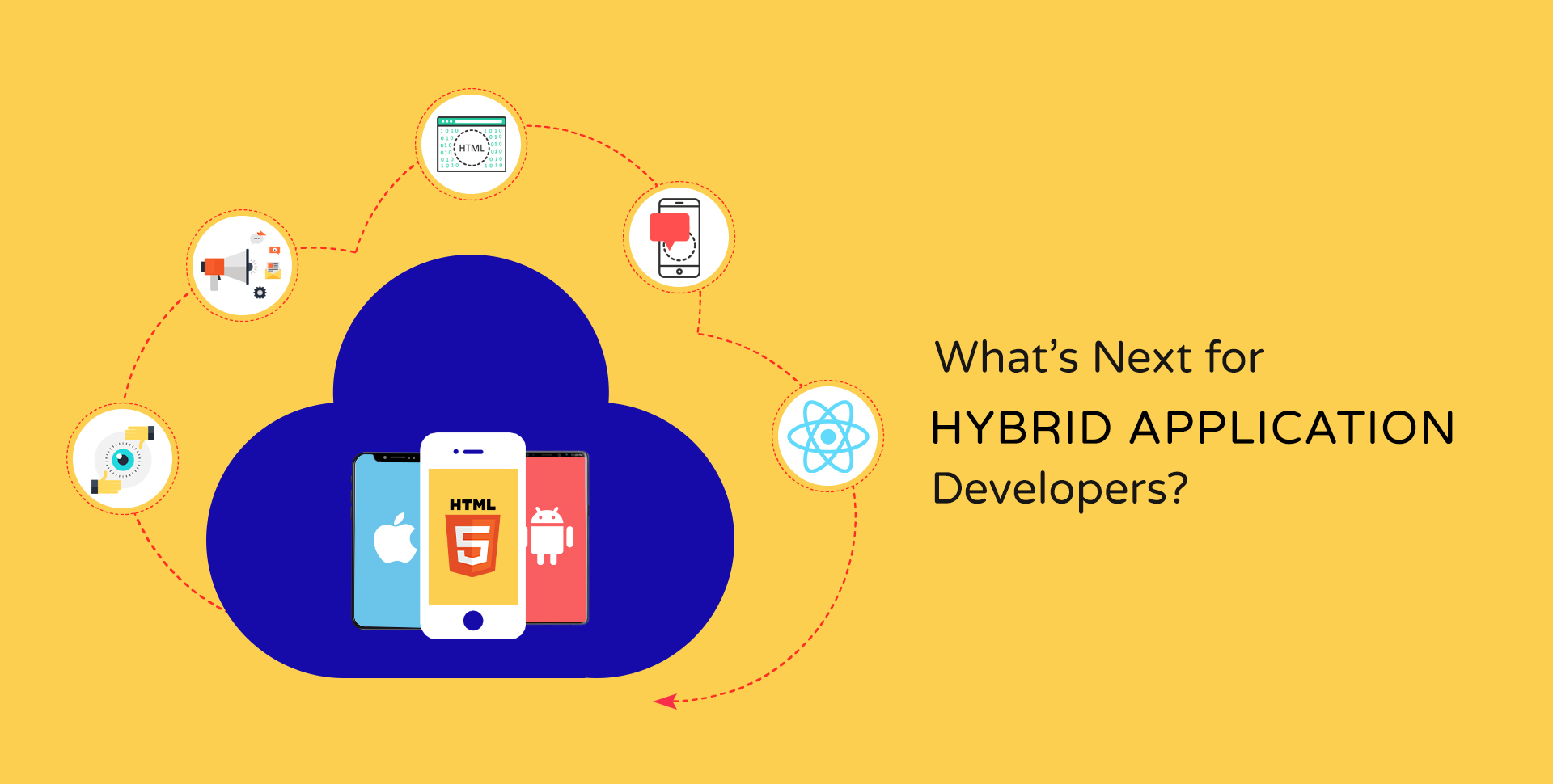 Hire top hybrid app developers - Semidot Infotech