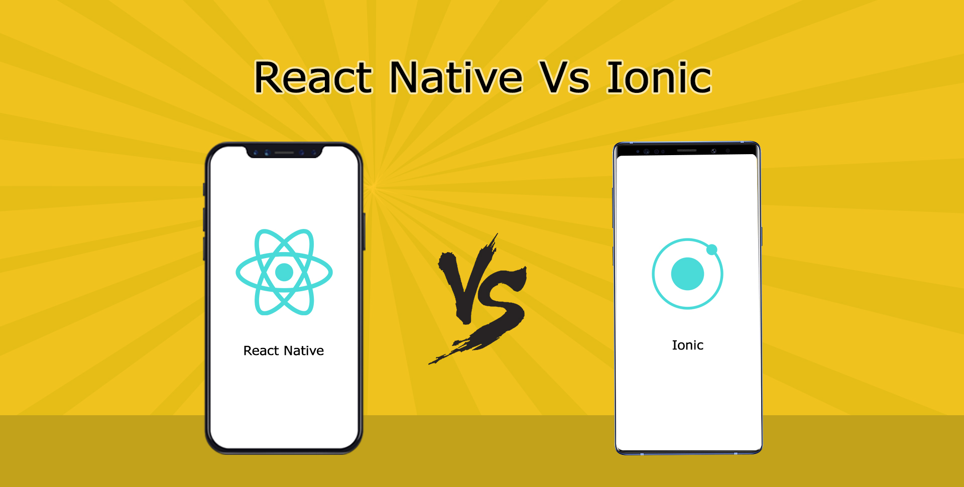 React Native Vs Ionic Suitable Hybrid App Development Platform for Business - Semidot Infotech