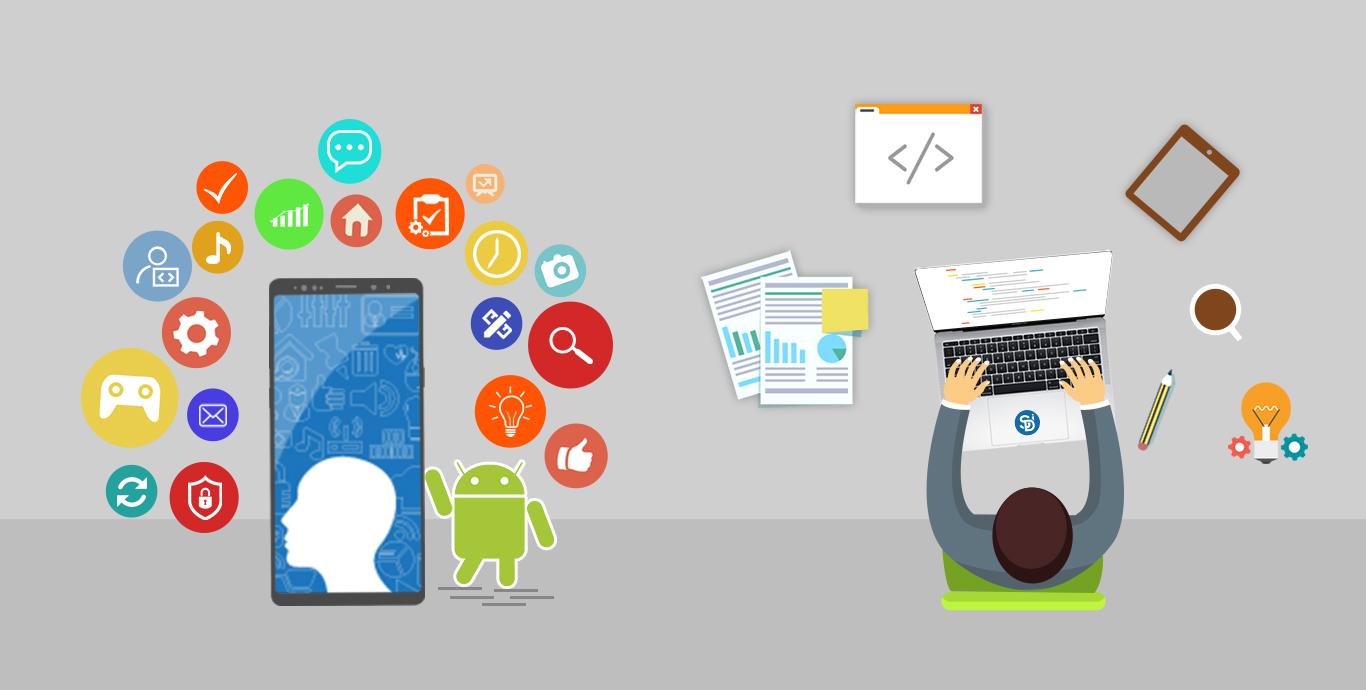 Hire Android App Development Company - Semidot infotech