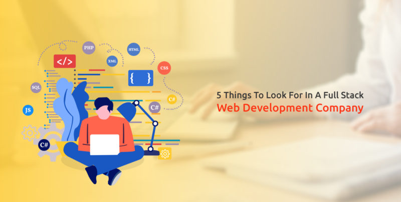 Hire Full Stack Web Development Company - Semidot Infotech