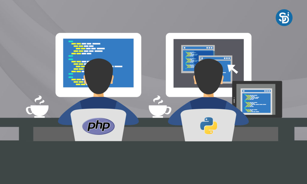 PHP & Python Rule over Web Development