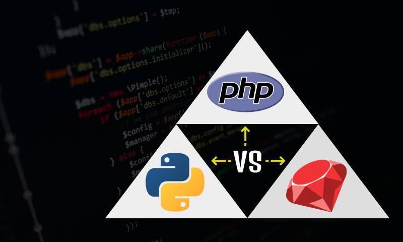 Python VS PHP VS ROR