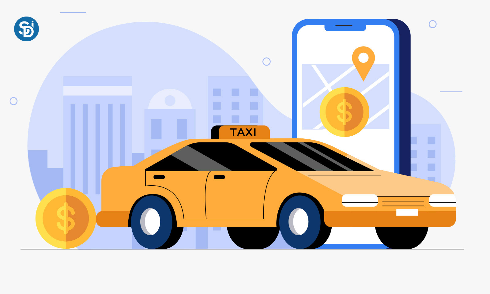 Taxi App development cost & Features