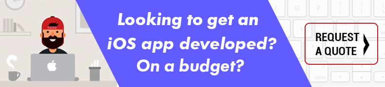 iOS App development CTA