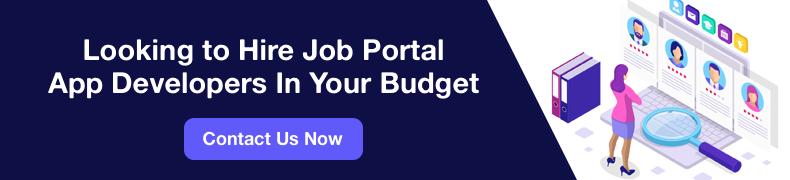Job Portal App Developers CTA