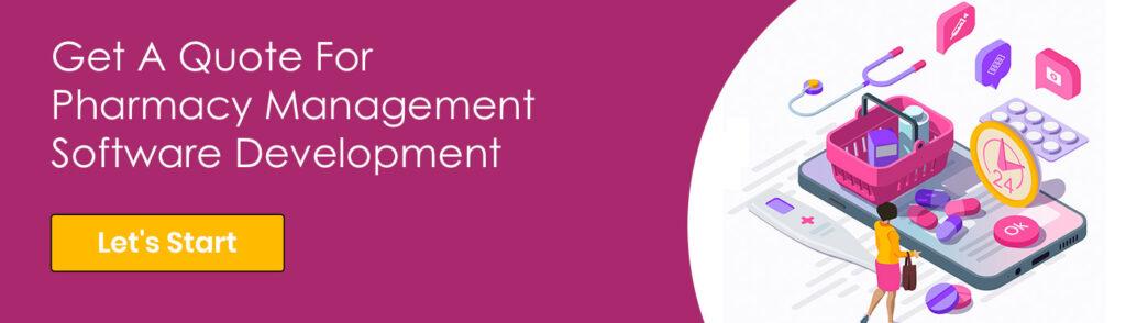 Pharmacy Management Software Development CTA