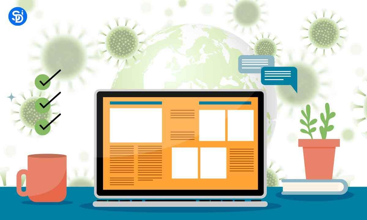 Impact of Covid on Web Development Industry